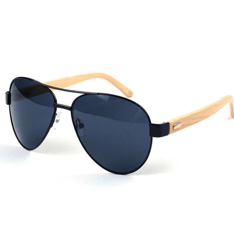 2016 New Wood Sunglasses Men Gafas Coating Sun Glasses Women  Designer Vintage Bamboo Sun Glasses Sport UV400 Oculos De Sol - onlinejewelleryshopaus