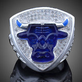 Championship Rings For Michael Jeffrey Jordan Fan Gift 1993 Global Basketball Finals Bull Ring Chicago Sport Replica Ring J02092 - onlinejewelleryshopaus