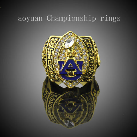 aoyuan Championship rings,2010 Auburn Tigers Football National Championship Starting Player's Rings, sports fans rings, men ring - onlinejewelleryshopaus