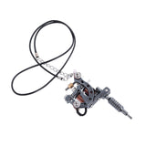 1 piece Mini Tattoo Machine Gun Pendant Mixed Styles Pendant Necklace for tattoo artists Key chain Keyring Creative Gift Jewelry - onlinejewelleryshopaus