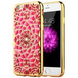 Cell Phone cases Accessories High quality Diamond Skin covers for iphone 6 6s 6 plus 6s plus with electroplating soft back cover - onlinejewelleryshopaus