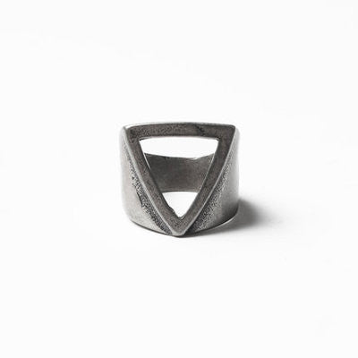 Fashion Minimalism Rings For Men Brand Black Antique Finger Ring Geometric Stainless Steel Ring Men Jewelry For Party #7#9 - onlinejewelleryshopaus