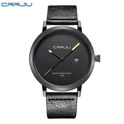 2016 CRRJU Men Watches Luxury Brand Casual Men Watches Analog Military Sports Watch Quartz Male Wristwatches Relogio Masculino - onlinejewelleryshopaus