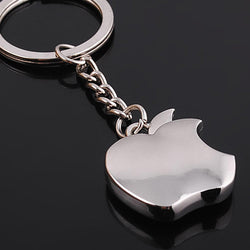 New arrival Novelty Souvenir Metal Apple Key Chain Creative Gifts Apple Keychain Key Ring Trinket - onlinejewelleryshopaus