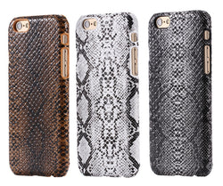 For iPhone 6 7 6S Case Sexy Snake Pattern PU Leather Back Cover Case for Apple iPhone 7 6 6S Plus 6 7 Phone Accessory Protective - onlinejewelleryshopaus