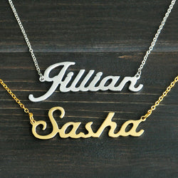 Any Personalized Name Necklace alloy  pendant  Alison font  fascinating  pendant  custom name necklace Personalized  necklace - onlinejewelleryshopaus