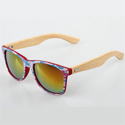 Handmade Bamboo Sunglasses Men Wooden Sun Glasses Women Brand Designer Original Wood Glasses Character Camouflage Sunglasses - onlinejewelleryshopaus