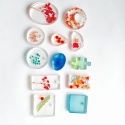 12 Designs Cabochon Silicon Mold Mould For Epoxy Resin Jewelry Making DIY Craft D01241 - onlinejewelleryshopaus