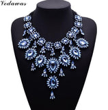 Vedawas Tassel Style Crystal Rhinestone Beads Luxury Collar Choker Necklace&Pendant Fashion Jewelry Statement Maxi Necklace 2228 - onlinejewelleryshopaus