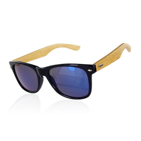 Unisex New Womens Men Sunglasses Wooden+ plastic frame Retro Stylish Designer Vintage Shades Glasses - onlinejewelleryshopaus
