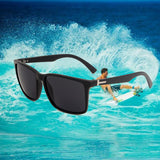 Fashion Rectangle Sunglasses Men Women Beach Sun glasses  Sport Eyewear UV400 Protection LESMORE 1016 - onlinejewelleryshopaus