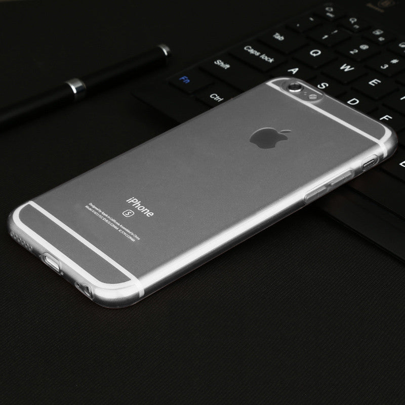 Baseus Ultra Thin Soft TPU Phone Case For iPhone 6 6s Plus Slim Crystal  Clear Silicone a30ee92684
