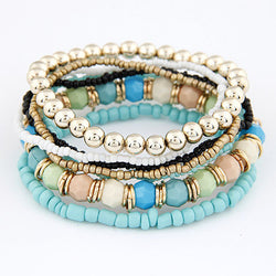 2017 Bohemian Bracelets for Women Fashion Beaded Multilayer Bracelets & Bangles Charm Pulseras Mujer Jewelry Pulseira Masculina - onlinejewelleryshopaus