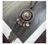 2016 New Arrival Women Pendant Necklaces All-match Female Long Tassel Necklace Pendant Accessories Sweater Chain - onlinejewelleryshopaus