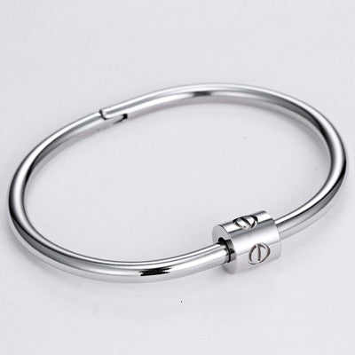 6ba8989bd985 Bangles Bracelets and Bangles 16.5cm New LUST LTD Bangles Charming Nail  Bangle Stainless Steel Top Quality 3 Colors Bracelet Bangle for Men Pulseras  Hombre