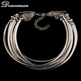 2016 New Fashion Boho Collar Choker Necklace Statement Jewelry Women Vintage Ethnic Style Bohemian Neck Collier 8741 - onlinejewelleryshopaus
