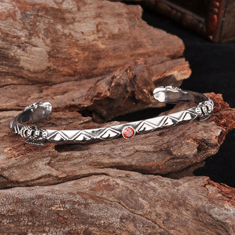 316L Stainless Steel Unique Thin Man's Bangle for Man Woman BG1044 - onlinejewelleryshopaus