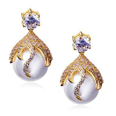 Orecchini Earings Pendientes Mujer New Simulated Jewelry Earrings Made with Cubic Zirconia Allergy Free Lead Free - onlinejewelleryshopaus