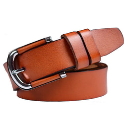 Epacket Free Shipping Brand Design Genuine Leather Womens Belts Luxury 100% Cowhide Belt Strap High Quality Belts For Female - onlinejewelleryshopaus