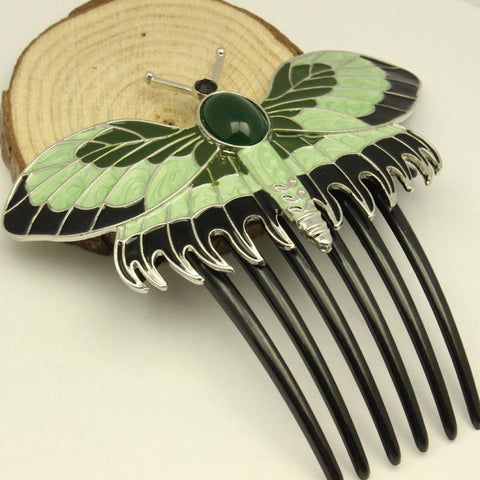 Free Shipping Zinc Alloy Hair Combs Titanic Butterfly Combs The New Trend Hot Sale Factory Sale - onlinejewelleryshopaus