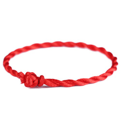 New Men Bracelet Red Rope Bangle Lucky Bracelets on the Leg for Women Cord String Line Handmade Jewelry For Couple Lover Gift - onlinejewelleryshopaus