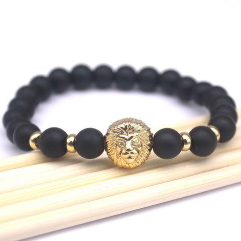 Top Fashion Natural Health Stone Charm Beads Men's Bracelets Brand Macrame Badge Pendant Bracelets Jewelry. - onlinejewelleryshopaus