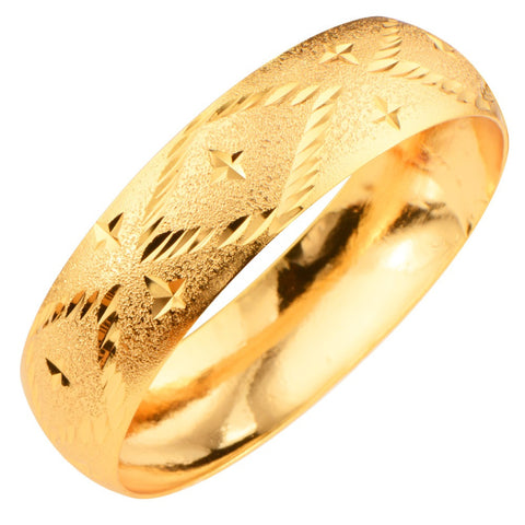 Vintage Thick Hollow Jewelry Bracelets For Women/Men Jewelry 18K Gold/Platinum Plated Fashion Cuff Bracelets & Bangles BR70075 - onlinejewelleryshopaus