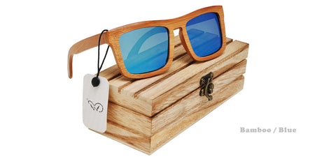 Men Ofertas Wooden Sunglasses Europe Square Bamboo Polarized Gray  Men Sunglasses Luxury Ofertas Wooden Sunglasses - onlinejewelleryshopaus