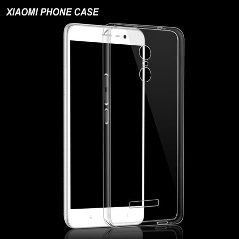 Buy two get one free Clear Soft Silicon TPU Coque Cases for Xiaomi Mi5 4S Redmi 3 3S 3X Redmi Note 3 Pro Prime  Phone Case Cover - onlinejewelleryshopaus