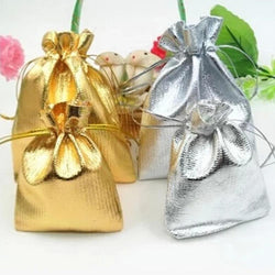 50pcs/lot Wholesale Organza Bags 9x7 cm Wedding Pouches Party Favor Candy Bag Jewelry Packing Gift Bags 3 Colors Drop Shipping - onlinejewelleryshopaus