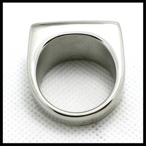 1pc For Biker Jewelry Ring 316L Stainless Steel Fashion Jewelry Ring - onlinejewelleryshopaus