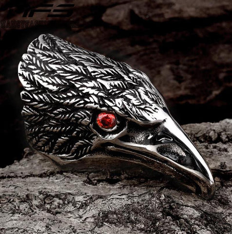 Exclusive Eagle Rings New Personalitized Rings Stainless steel Large Eagle Men Ring Men Fashion Eagle Rings Stainless steel - onlinejewelleryshopaus