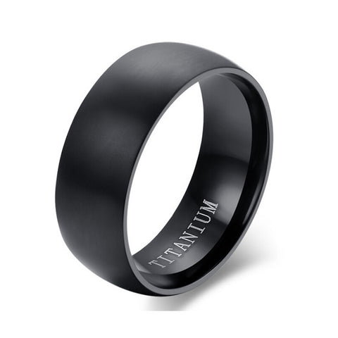 Wholesale New Arrival Titanium Rings for Men and Women Hot Sale Black Men Rings - onlinejewelleryshopaus