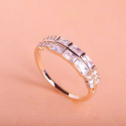 Classic Round White Bridal Elegant Wedding Ring For Women Anel Loki Ring The Ring O Perfumes For Women African Indian Jewelry - onlinejewelleryshopaus