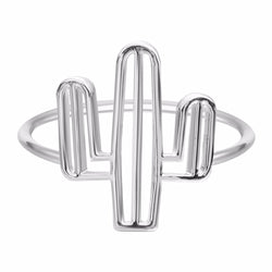 Free shipping 10PCS  NEW Design Cactus Ring For Women Brand Wedding Cacti Tree Ring Jewelry 2016 - onlinejewelleryshopaus