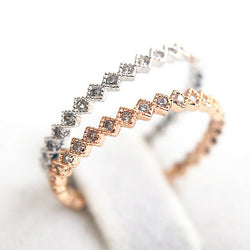 Fashion  Delicate Small Size Full Pave CZ  Zircon Knuckle Tail Ring for Women Fashion Jewelry - onlinejewelleryshopaus