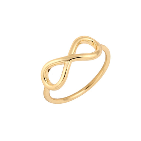 10pcs/lot New Fashion Simple Infinite Love Rings for Women Endless  Ring Jewelry 8 Symbol Finger Ring JZ002 - onlinejewelleryshopaus