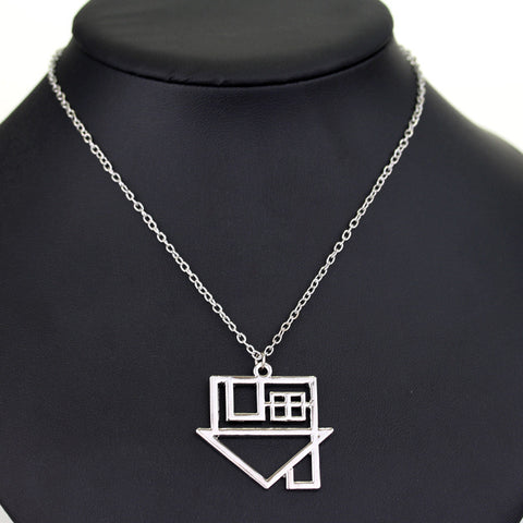 10PCS/Lot Fashion Silver Plated Rock Band The Neighborhood Rock Music NBHD Logo Pendant Necklace Top Grade Quality - onlinejewelleryshopaus