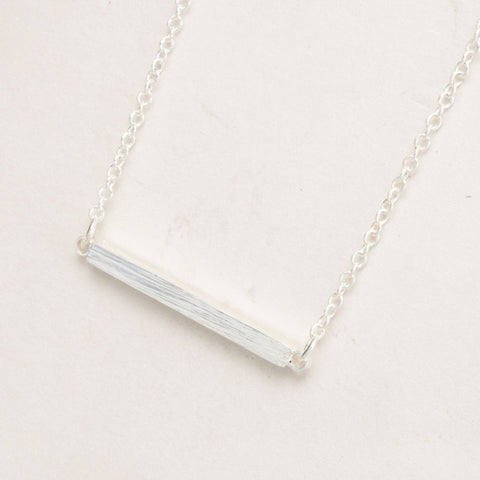 10Pcs/lot 2016 Fashion Designer Wholesale Spring Style Brushed Square Bar Pendant Necklace for Women Party Gifts Jewelry - onlinejewelleryshopaus