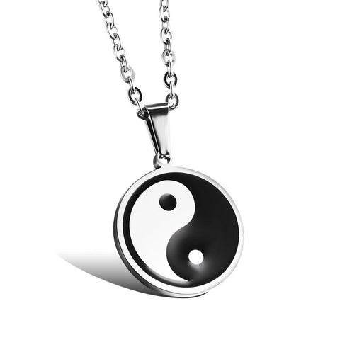 2016 new arrival hot sale Fashion Unisex jewelry stainless steel pendant necklace wholesale male / female accessories OGX959 - onlinejewelleryshopaus
