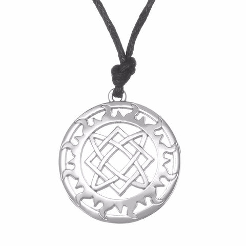 Slavic Pendant Star of Russia Lada-Virgin Amulet Necklace Women Slavic Paganism pendant Necklaces for Man - onlinejewelleryshopaus