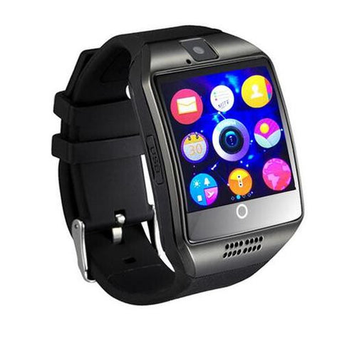 1.54 inch HD Touch Screen Smart watch Q18 smartwatch with Camera SIM TF Card Bluetooth 3.0 Smart Watches for Android IOS Phone - onlinejewelleryshopaus