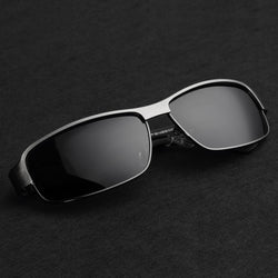 Aluminum Magnesium Alloy Frame Polarized Sunglasses Men's Driver Sunglass Mirror Outdoor Sports Glasses Oculos Male Sunglasses - onlinejewelleryshopaus