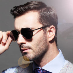 Polaroid Sunglasses Men Polarized Driving black male Sun Glasses Top Mens Sunglass Brand Designer masculine anti-UV Cool Eyewear - onlinejewelleryshopaus