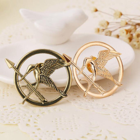 12pcs/lot Wholesale Free Shipping Fashion hunger games Bird pin bird brooch  corsage Brooches - onlinejewelleryshopaus