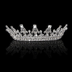 1pcs Vintage Headband Crown Tiara Pageant Prom Hair Jewelry For Wedding Bridal - onlinejewelleryshopaus