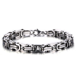Effie Queen  New Fashion 316L Stainless Steel Men's Charm Bracelets Hot Sale Cool Male Bracelet Punk Rock Style WTB29 - onlinejewelleryshopaus