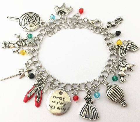 Freeshipping 20pc a lot Wizard of Oz Inspired Charm Bracelet  MEINV06 - onlinejewelleryshopaus
