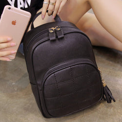2017 new fashion bags shoulder bag female Korean leisure College Wind minimalist Ms. wild backpack schoolbag tide - onlinejewelleryshopaus