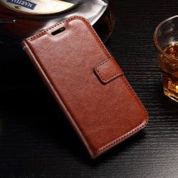 For Huawei Y3 II Case Leather Quality Picks Luxury Stand Wallet Flip Cover Phone Accessories Bags Cases for Huawei Y3 II ii 2 - onlinejewelleryshopaus